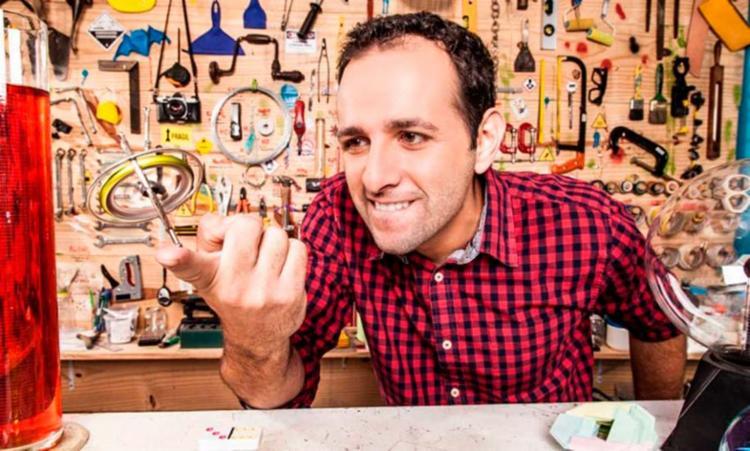O jornalista Iberê Thenório é um dos criadores do