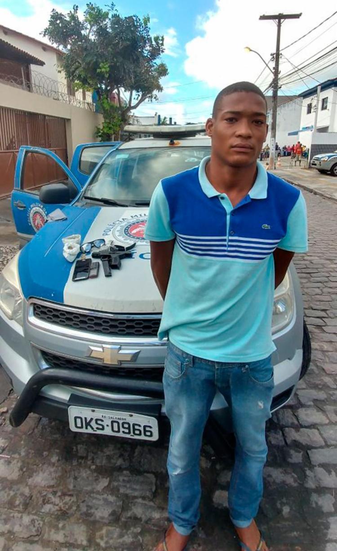 Jovonilson Santos da Silva foi preso em abril, mas liberado após audiência de custódia - Foto: Divulgação | SSP