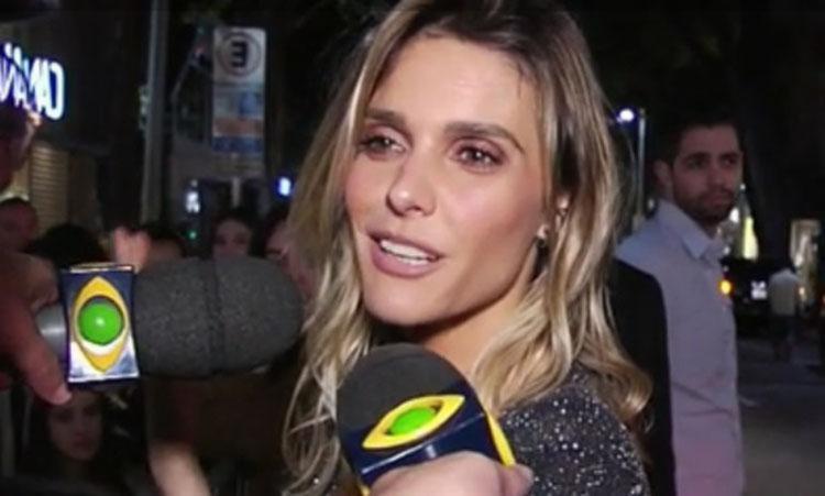 O apresentador chamou Fernanda Lima de 'magrela' - Foto: Reprodução | Tv Band