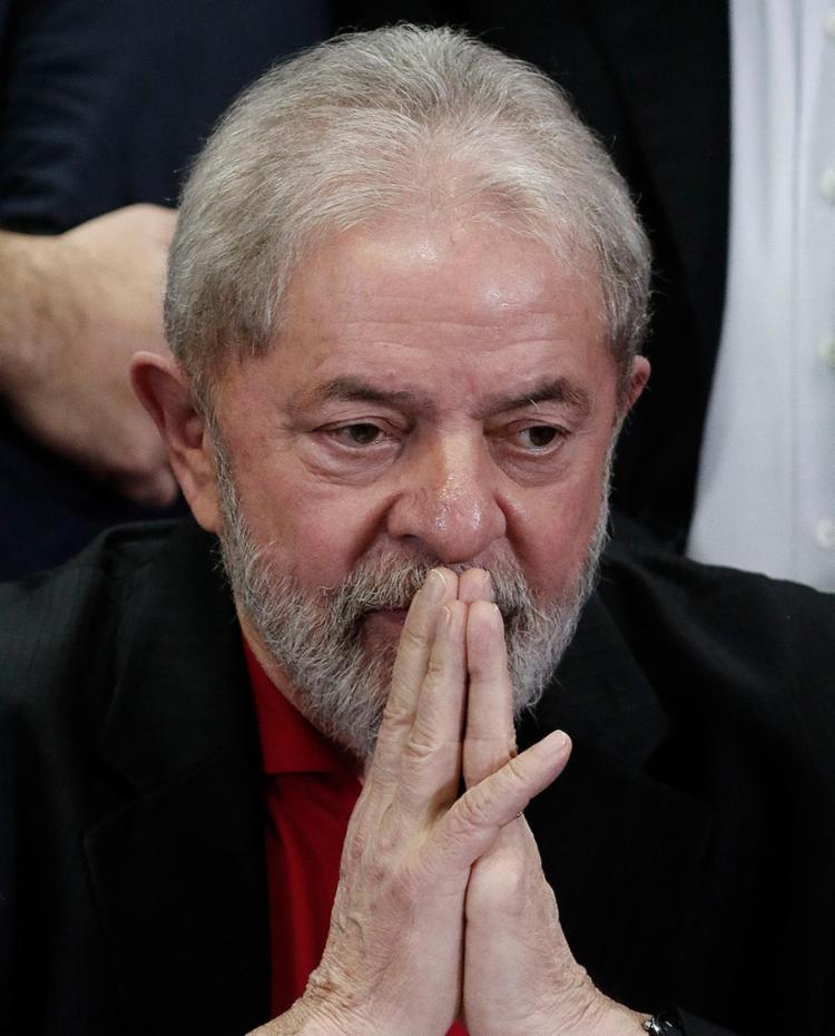 MPF acusa o petista de corrupção e lavagem de R$ 1 milhão nas obras da propriedade - Foto: Miguel Schincariol l AFP
