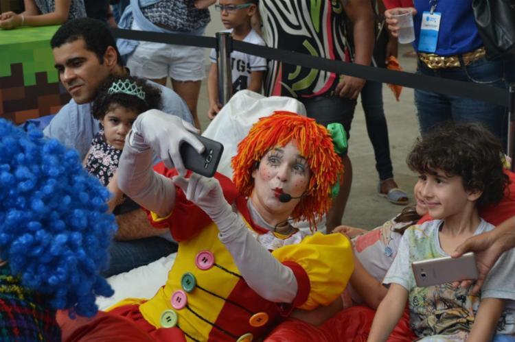 Contação de histórias no Campus Kids animou as crianças - Foto: Alezinha Roldan| A Tarde SP