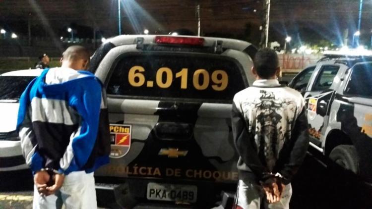 Railson Pereira Santos e Alessandro Reis Neris foram detidos na madrugada - Foto: Divulgação | SSP-BA