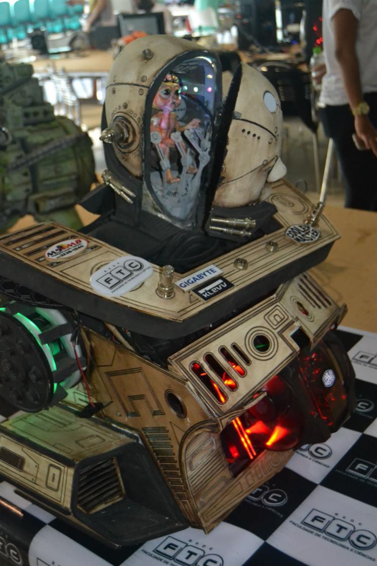 CPU personalizada foi um dos destaques - Foto: NO