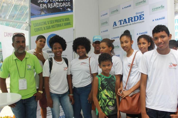 De Nova Esperança, os jovens recebem curso de informática no projeto - Foto: Igor Andrade | A Atarde SP