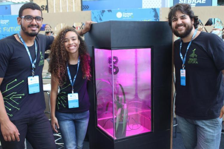 Alunos da UFBA desenvolvem estufa - Foto: Igor Andrade