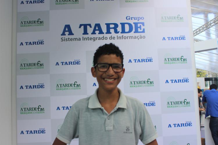 João Henrique aprendeu a desenvolver jogos assistindo jogos pelo YouTube - Foto: Igor Andrade | A Tarde SP