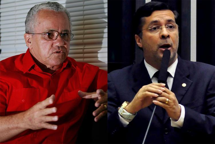 Josias Gomes, do PT (à esquerda) e Fernando Torres, do PSD, foram exonerados por Rui para votar nesta quarta-feira - Foto: Joá Souza l Ag. A TARDE l 28.01.2015 e Divulgação