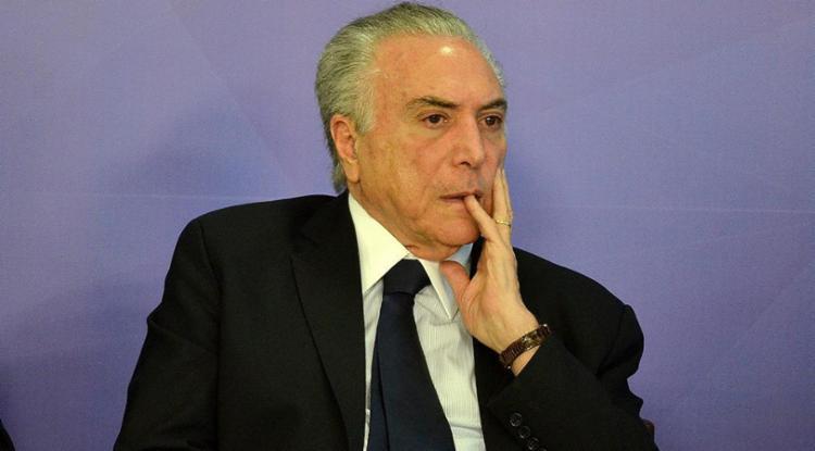 Temer já foi notificado sobre leitura de parecer na Câmara - Foto: Renato Costa l Estadão Conteúdo
