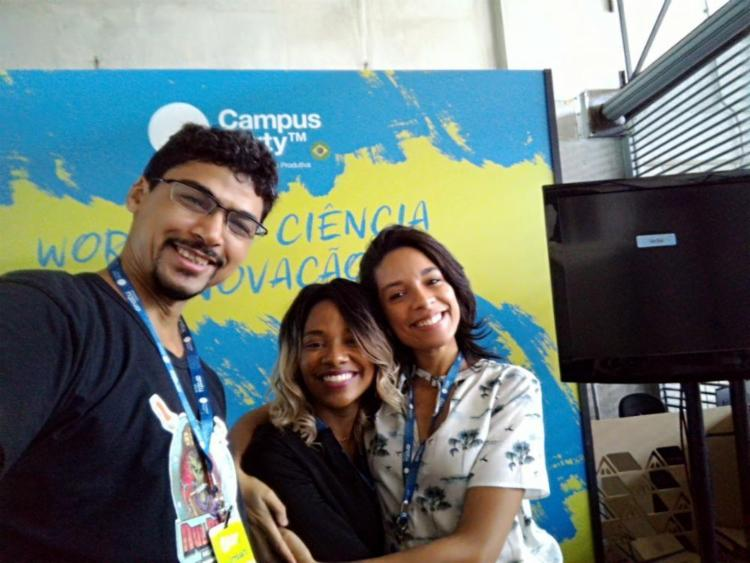 Café&Forense apresentaram 2 workshops na Campus Party - Foto: Arquivo Pessoal