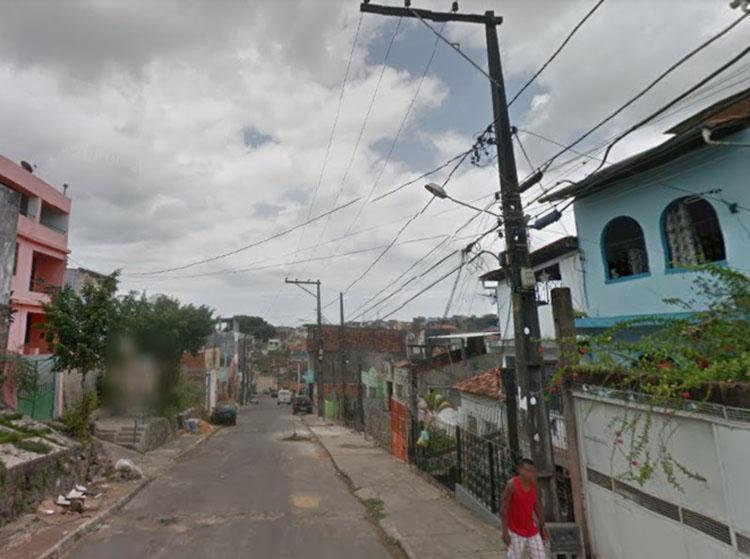O crime aconteceu na rua Sete de Janeiro - Foto: Reprodução | Google Maps