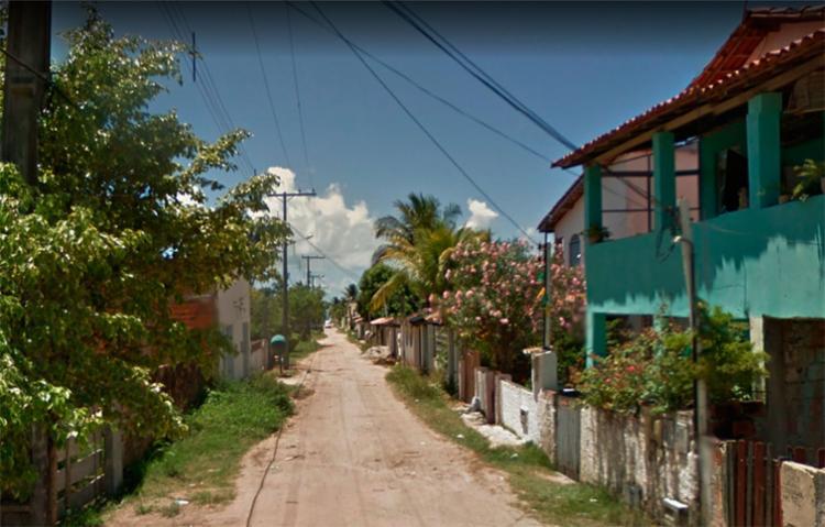 O crime aconteceu na rua Rio do Ouro, em Barra do Pote, Vera Cruz - Foto: Reprodução | Google Maps