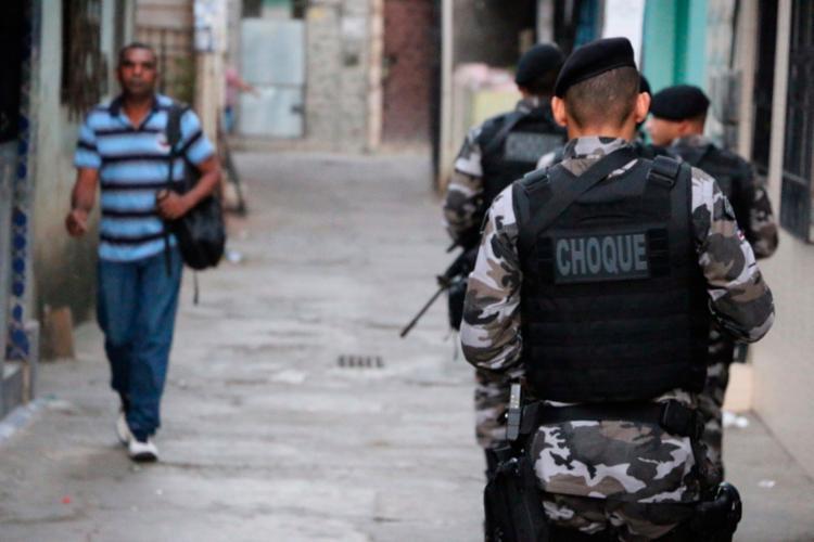A Patamo ocupava o bairro desde a última sexta-feira, 11 - Foto: Alberto Maraux   Divulgação   SSP-BA