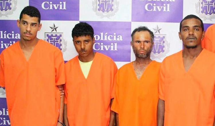 Os homens já tinham sido alvos de investigações da delegacia do município - Foto: Divulgação   Polícia Civil