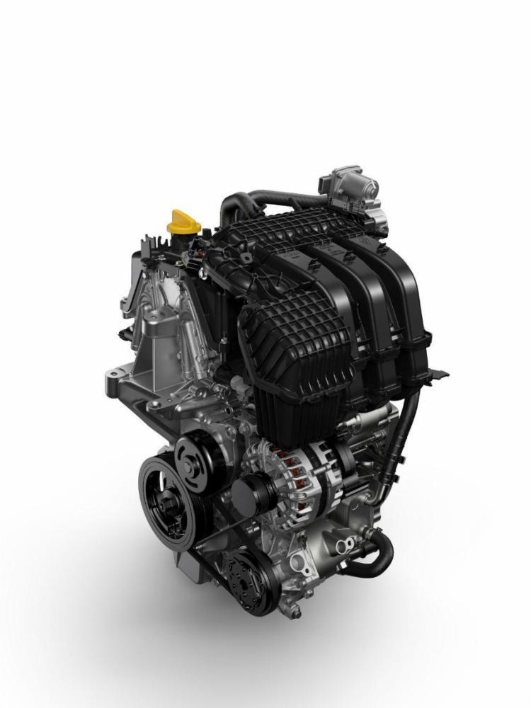 Motor Renault 1.0 3 cilindros estreou no Sandero, com 82 cv - Foto: Renault | Divulgação