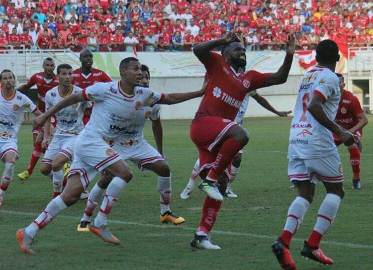 Empate em 1 a 1, em Natal, domingo, valeu vaga inédita na Série C para a Juazeirense - Foto: Canindé Pereira l América FC l 14.8.2017
