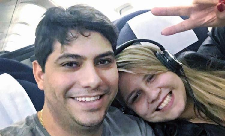 O empresário Yugnir Ângelo e Marília estavam noivos há dois anos - Foto: Reprodução | Instagram