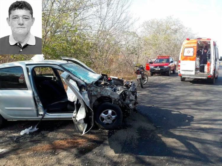 Outras duas pessoas, que viajavam com o político, também morreram no acidente - Foto: Divulgação | SAMU
