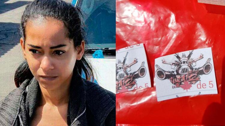 Ela usa a marca da facção criminosa para vender as drogas, segundo a polícia - Foto: Divulgação | SSP-BA
