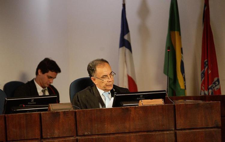 O relator Lourival Trindade sentenciou oito anos de reclusão para cada condenado - Foto: Margarida Neide l Ag. A TARDE