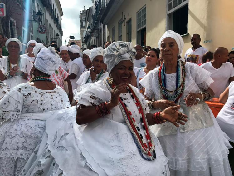 Baianas festejaram o Dia de São Roque - Foto: Margarida Neide   Ag. A TARDE
