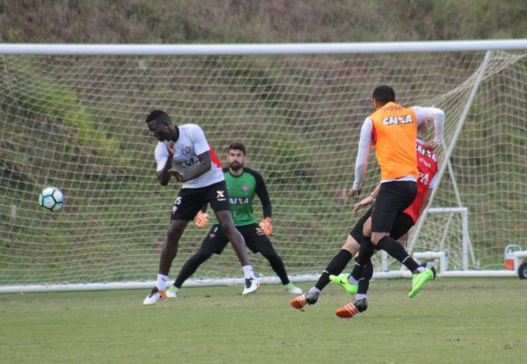 Jogadores participaram de atividade nesta quarta-feira - Foto: Mauricia da Matta l EC Vitória