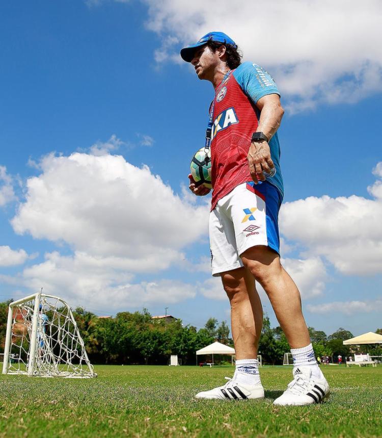 Com Preto, time tem 4 pontos em 9 disputados - Foto: Felipe Oliveira l EC Bahia