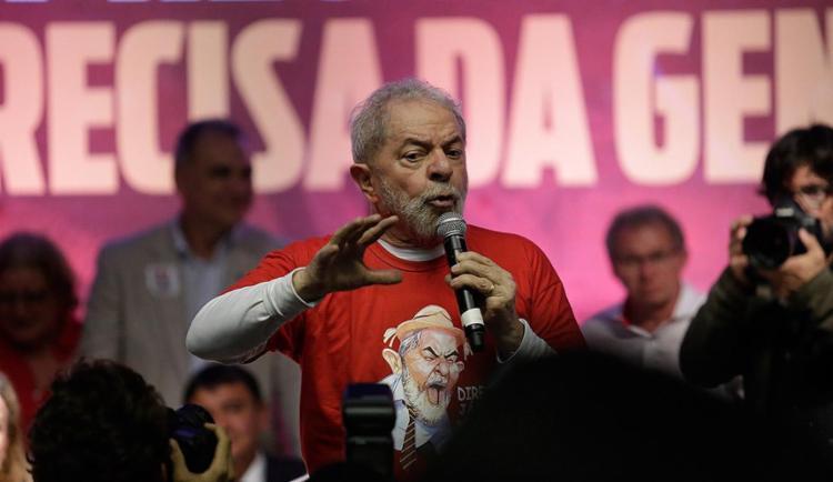 Ex-presidente Lula foi condenado por corrupção passiva e lavagem de dinheiro - Foto: Adilton Venegeroles l Ag. A TARDE
