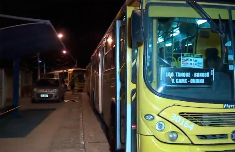 A situação foi normalizada após o reforço no policiamento - Foto: Reprodução l TV Bahia
