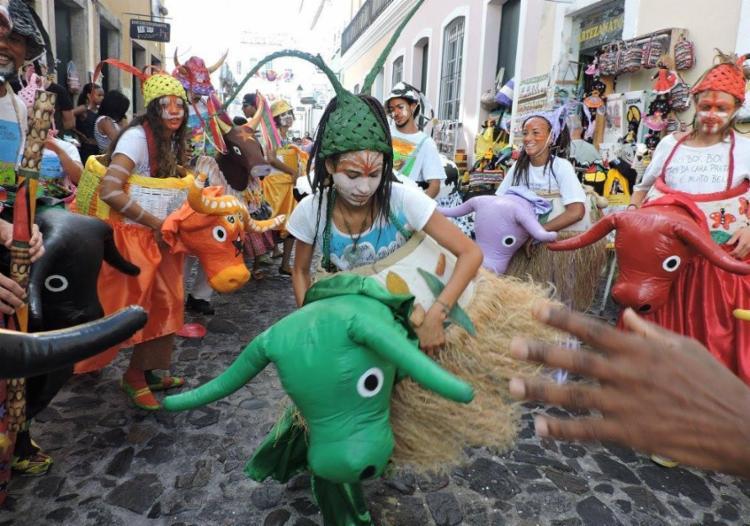 O Grupo Boiada Multicor irá animar o público no domingo - Foto: Divulgação
