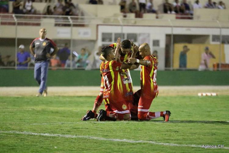 Cancão de fogo venceu o time potiguar por 3 a 1 - Foto: Divulgação l Agência CH l 15.07.2017