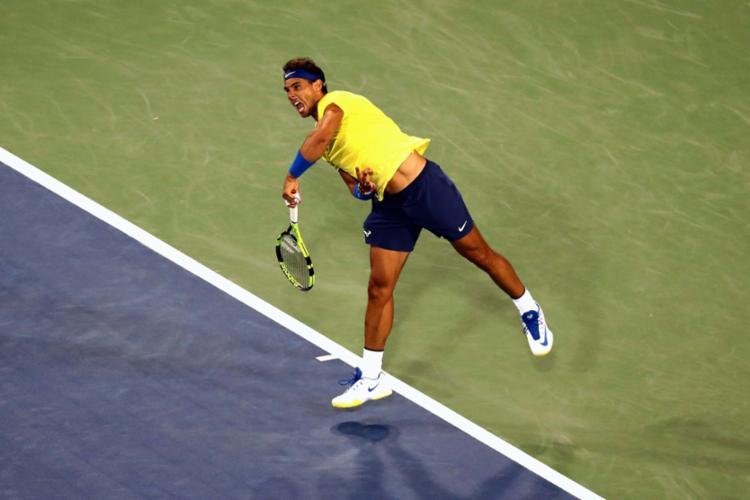 O espanhol parou nas quartas de final do Masters 1000 de Cincinnati - Foto: Matthew Stockman   Getty Imagens   AFP