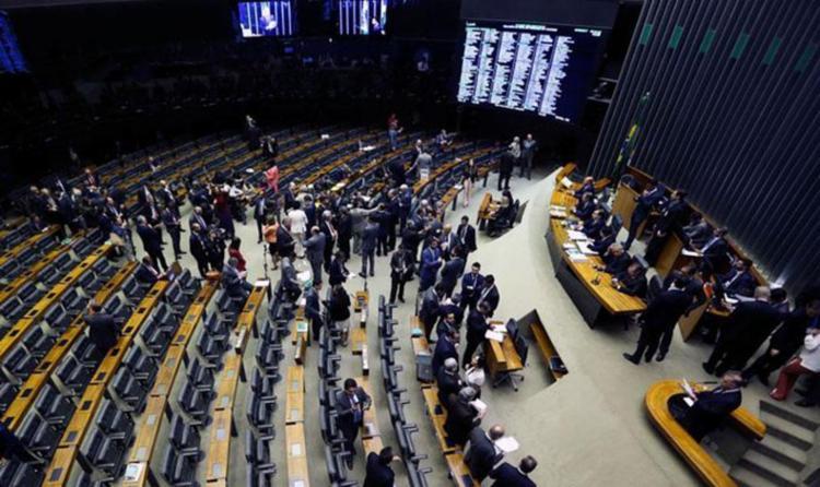 Sessão avalia parecer sobre denúncia contra Temer - Foto: Marcelo Camargo | Agência Brasil