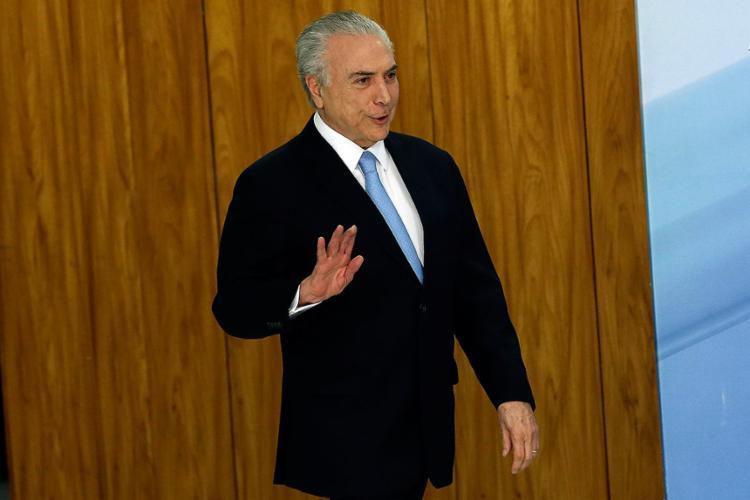 Assessoria de Temer nega envolvimento em qualquer organização criminosa - Foto: Valter Campanat l Agência Brasil l 03.08.2017