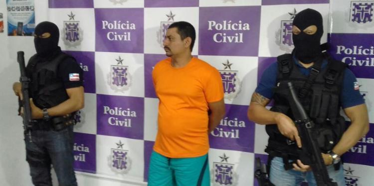 Fabilson Nascimento Silva afirmou que o tiro acertou o garoto acidentalmente - Foto: Joá Souza | Ag. A TARDE
