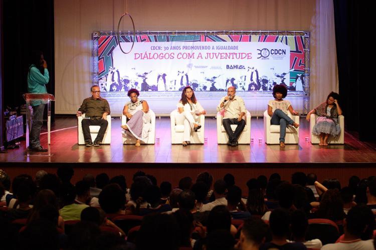 Evento ocorreu nesta segunda-feira, 21, no Centro Cultural Plataforma - Foto: Mila Cordeiro l Ag. A TARDE