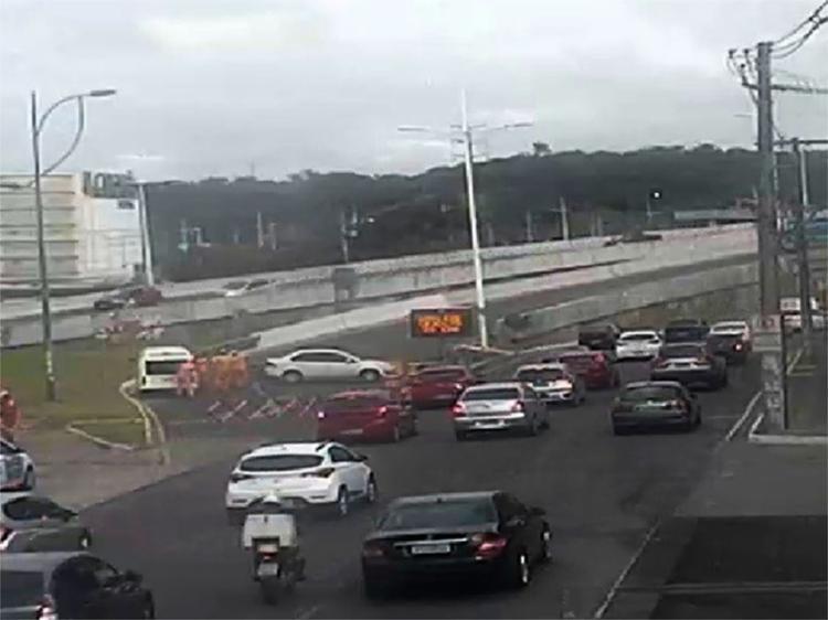 Opção de retorno é o viaduto do Centro Administrativo da Bahia (CAB) - Foto: Divulgação   Transalvador
