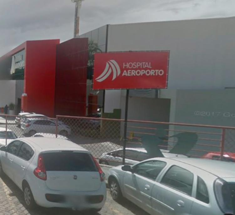 Policial estava internado desde a segunda-feira, 21, no Hospital Aeroporto - Foto: Reprodução | GoogleMaps