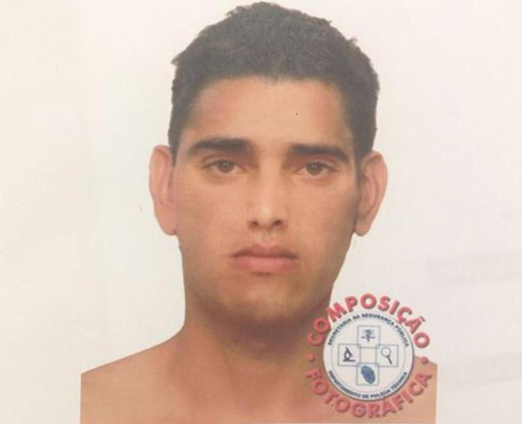 De acordo com a testemunha, o retrato falado indica que suspeito aparenta ter entre 17 e 18 anos - Foto: Divulgação l Polícia Civil