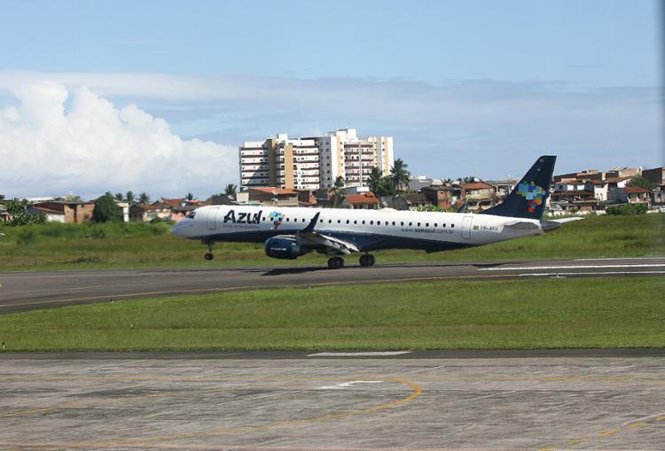 O Jorge Amado é um dos mais antigos aeroportos do estado e o terceiro maior em número de passageiros - Foto: Joá Souza l Ag. A TARDE l 29.2.2012