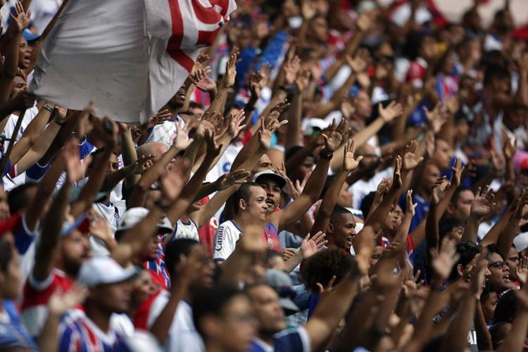 Tricolor tem a melhor média de público no Brasileiro desde inauguração da nova Fonte - Foto: Raul Spinassé l Ag. A TARDE