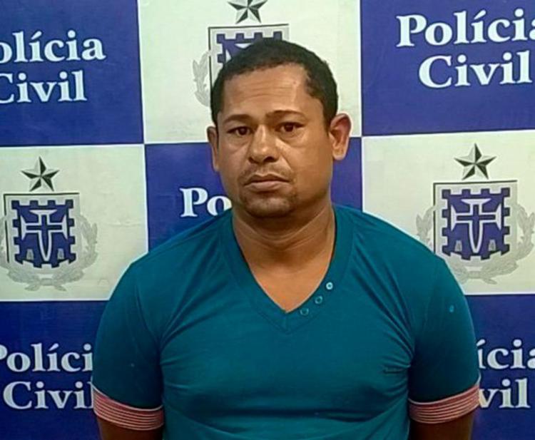 Fábio Alves da Cruz foi autuado em flagrante por furto - Foto: Divulgação   Polícia Civil