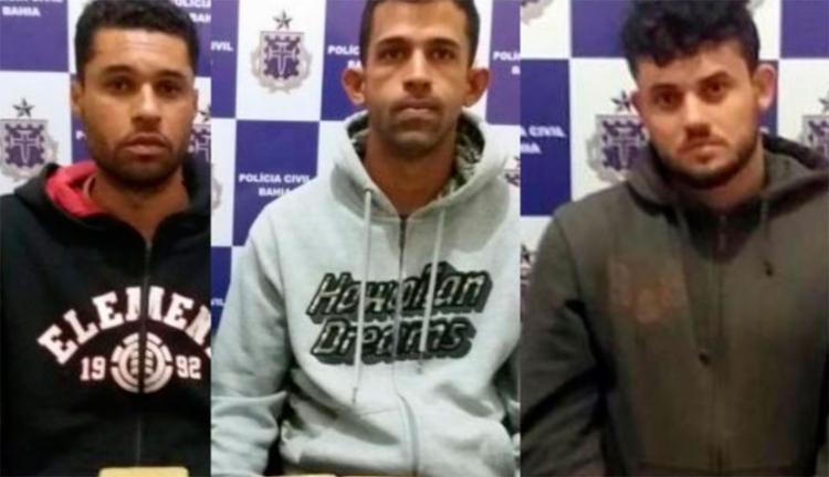 O trio fazia de suas residências pontos de distribuição e venda da droga - Foto: Reprodução   Blog do Marcelo