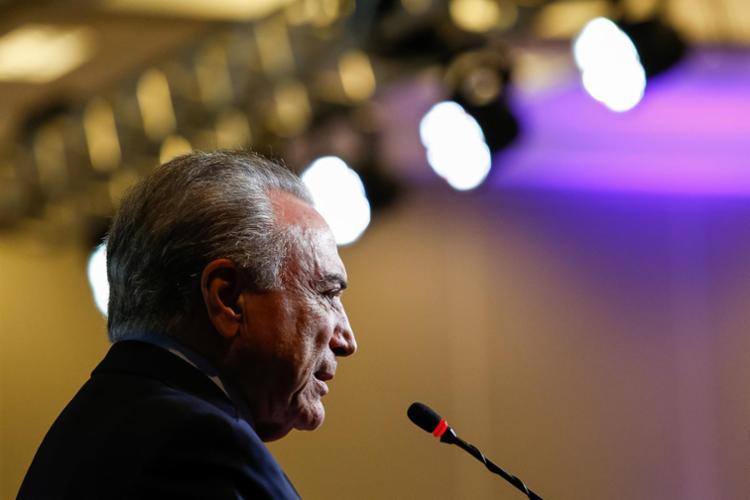 Presidente colocou a estrutura federal à disposição dos estados para ajudar nas buscas - Foto: Alan Santos | PR