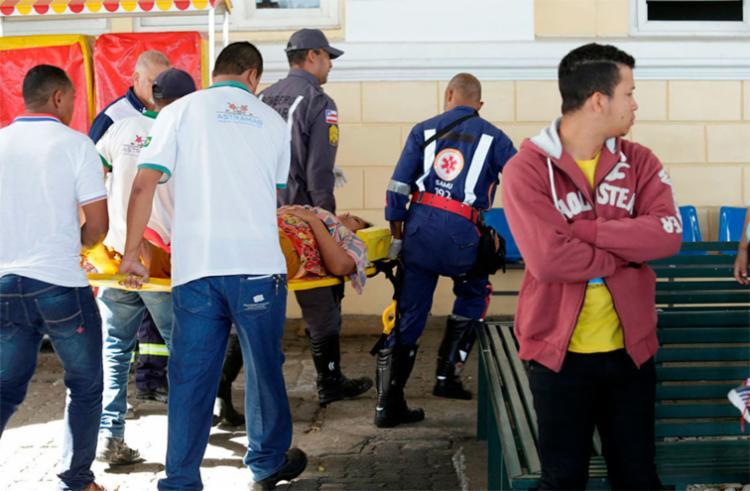 89 vítimas do naufrágio deram entrada em unidades de saúde - Foto: Xando Pereira   Ag. A TARDE