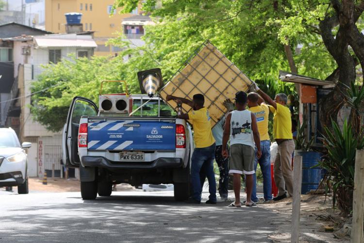 Os lava a jatos já haviam sido notificados pela Prefeitura na semana passada - Foto: Divulgação | Secom