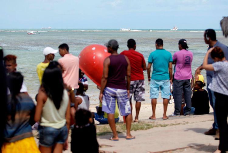 As 18 pessoas morreram no naufrágio da embarcação Cavalo Marinho I - Foto: Raul Spinassé   Ag. A TARDE