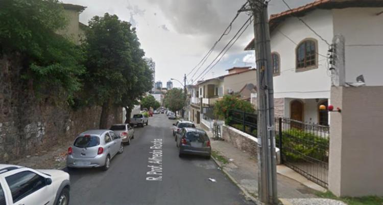 Crime ocorreu na rua Professor Alfredo Rocha - Foto: Reprodução | Google Maps