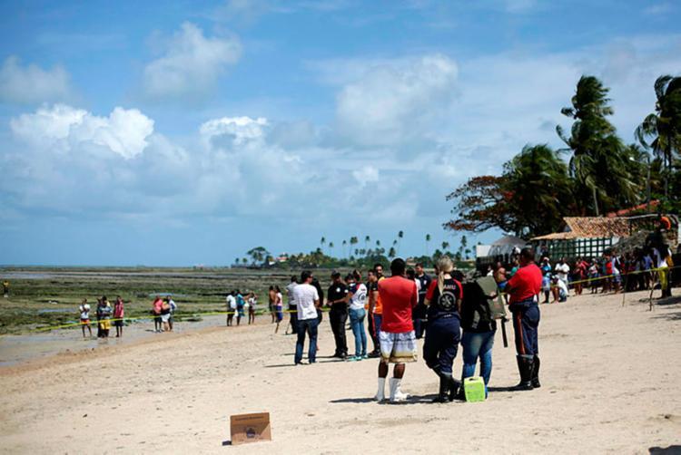 Tragédia com naufrágio de lancha em Mar Grande deixou 18 mortos - Foto: Raul Spinassé | Ag. A TARDE