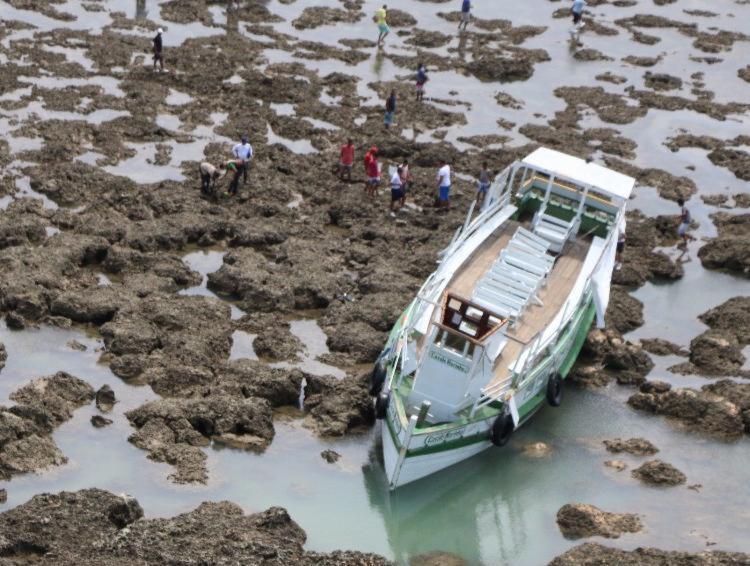 Cavalo Marinho I naufragou no 27 de agosto de 2017 - Foto: Alberto Maraux | Divulgação | SSP-BA