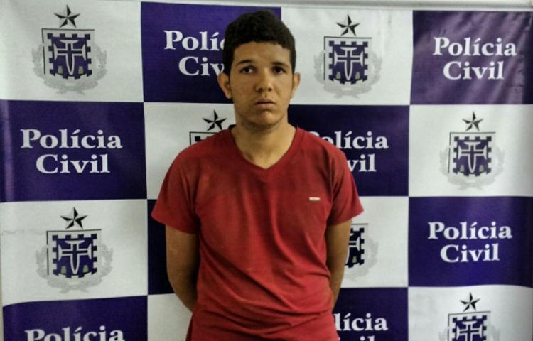 'Noni' teve seu mandado de prisão cumprido na casa dos pais, em Salvador - Foto: Divulgação   SSP BA